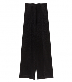 ETRO - WIDE LEG SATIN JACQUARD TROUSERS