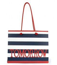 LUXURY SHOPPING TOTE BAG