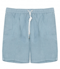 HARTFORD BEACHWEAR - LONG LINEN SWIM SHORTS