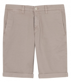 CLOTHES - STRAIGHT COTTON BLEND BERMUDAS