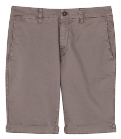 MASON'S - STRAIGHT COTTON BLEND BERMUDAS