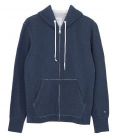 STANDARD ISSUE COTTON ZIP HOODIE