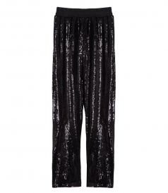 ASH SEQUIN EMBELLISHED TROUSERS