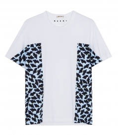 SIDE ANIMAL PRINT T-SHIRT