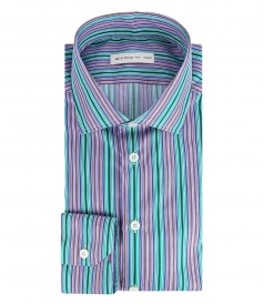 ETRO - STRIPED MULTICOLORED SHIRT