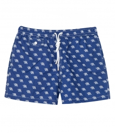 HARTFORD BEACHWEAR - PRINTED BOXER SWIM SHORTS