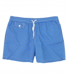 HARTFORD BEACHWEAR - WAVY PRINTED BOXER SWIM SHORTS