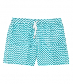 HARTFORD BEACHWEAR - PRINTED REGULAR SWIM SHORTS