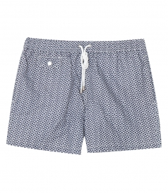 HARTFORD BEACHWEAR - PRINTED REGULAR BOXER SWIM SHORTS
