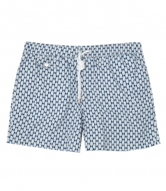 HARTFORD BEACHWEAR - SHORT LENGTH PRINTED SWIM SHORTS