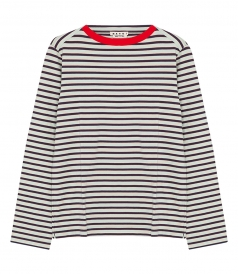 STRIPED BRETON LONG SLEEVE T-SHIRT