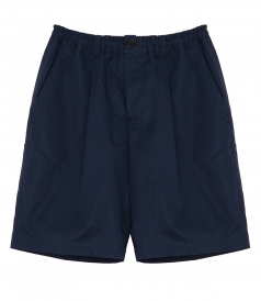 ELASTICATED WAISTBAND BERMUDA SHORTS