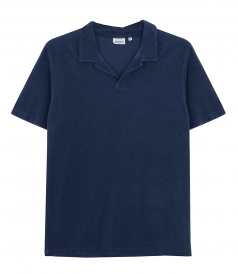 TOWELLING COTTON POLO SHIRT