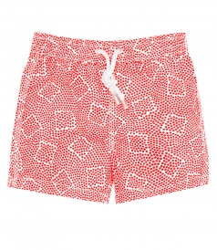 ACHILLE DOTS PRITED SWIM SHORTS
