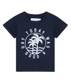 SOL ANGELES - GOOD DAY LOGO COTTON T-SHIRT