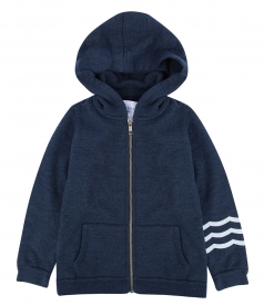CLOTHES - WAVES DETAILING HOODIE (KIDS)