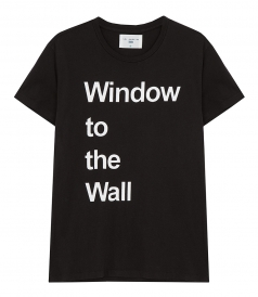 SALES - WINDOW TO THE WALL LOGO T-SHIRT