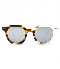 DIOR MASTER HAVANA SHADED CRYSTAL SUNGLASSES