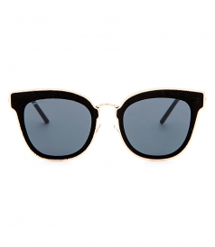 NILE/S SUNGLASSES FT BLACK SUEDE FRAME