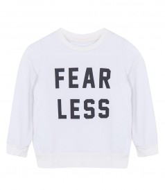 FEAR LESS LOGO PULLOVER