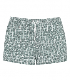 HARTFORD BEACHWEAR - BOXER PRINTED SWIM SHORTS