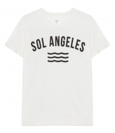 SOL ANGELES - SOL ANGELES LOGO COTTON T-SHIRT