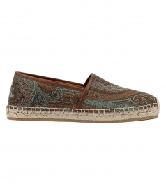 SHOES - PAISLEY PRINTED ESPADRILLES