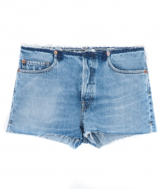 DEKA DENIM SHORTS