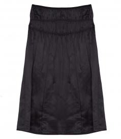 HELMUT LANG - RUCHED HIGH RISE SLIP SKIRT