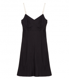 HELMUT LANG - COMPACT SLIP DRESS