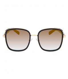ELVA/S OVERSIZED SQUARE SUNGLASSES FT GRADIENT LENSES