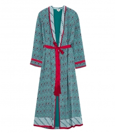 CLOTHES - ALMASI PRINT DRESSING ROBE