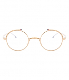 TBX910 GOLD FRAME GLASSES