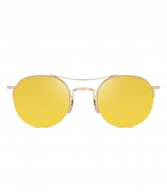 ACCESSORIES - TB-903 GOLD MIRROR SUNGLASSES