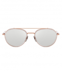 ACCESSORIES - TB-801 ROSE GOLD SILVER SUNGLASSES