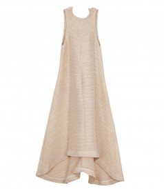 ROSA HIGH NECK TRAPEZE DRESS