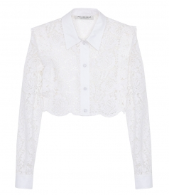CROPPED LACE SHIRT