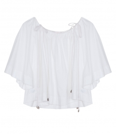 SEE BY CHLOE - FLARED CUFF BLOUSE