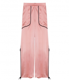 CLOTHES - SLIT PALAZZO TROUSERS