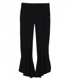 CLOTHES - FLARED CROPPED PANTS