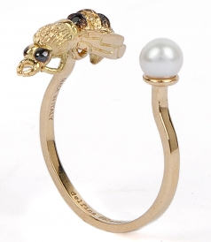 FINE JEWELRY - TO BEE OR NOT TO BE PIERCING RING