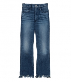 CLOTHES - EMPIRE CROP BELL JEANS