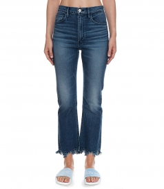 EMPIRE CROP BELL JEANS
