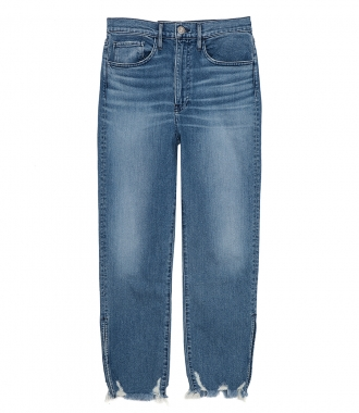 3x1 - RELAXED SPLIT CROP JEANS