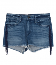 CLOTHES - MASON SHORTS FT FRINGE DETAILING