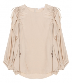 CLOTHES - FILL TRIMMED BLOUSE
