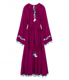 ELEVEN by MARCH11 - KOLKATA MAXI DRESS IN PURPLE