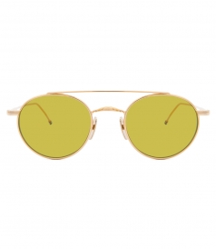 TB101 SHINY 12 K GOLD SUNGLASSES