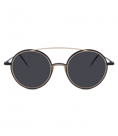 ACCESSORIES - TB-108 BLACK IRON SUNGLASSES