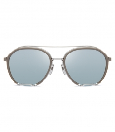 ACCESSORIES - TBS810 AVIATOR SHAPE SILVER SUNGLASSES